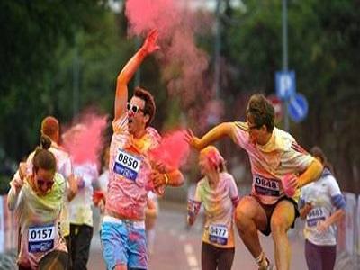 Цветен маратон организиран от маркетингова агенция Activation
