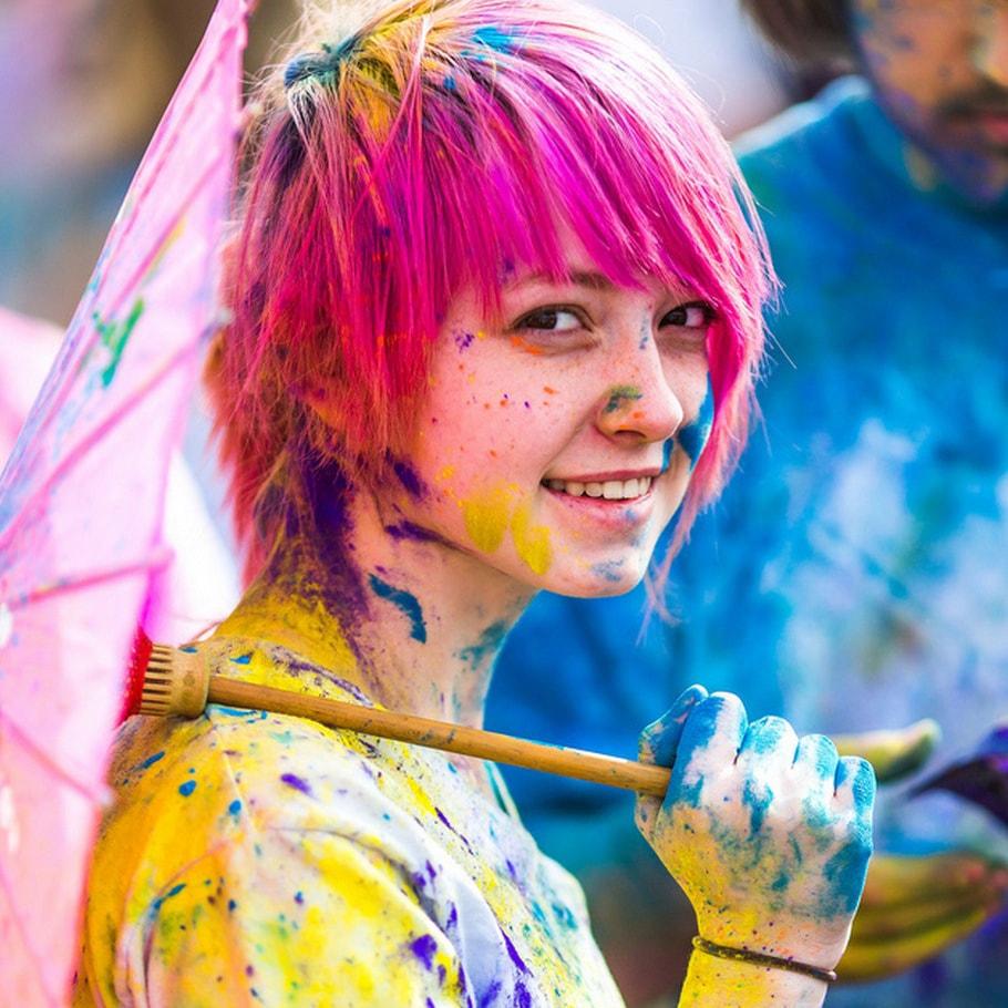 Награди от фестивал на цветовете организиран от маркетингова агенция Activation